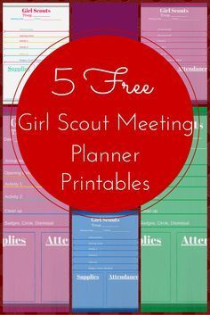 The method used by a multi-level Girl Scout leader that works like a charm, now in printable, sharable, colorful form.
