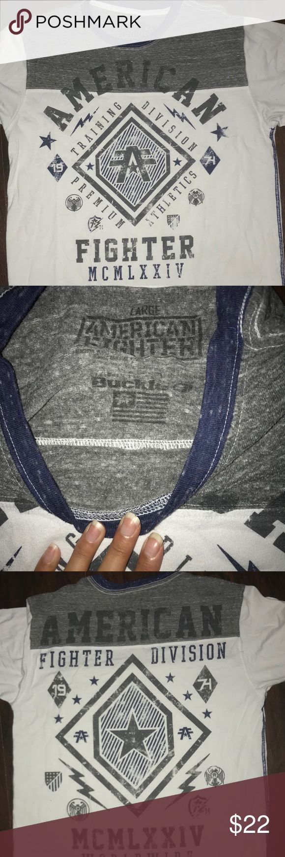 American fighter Great condition, no holes or stains American Fighter Shirts