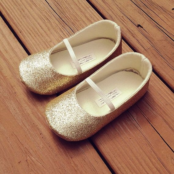 toddler girl shoes baby girl shoes soft soled shoes wedding shoes flower girl shoes glitter shoes glitter gold shoes eloise