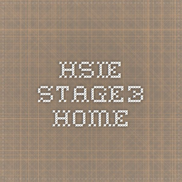 HSIE stage3 - Home