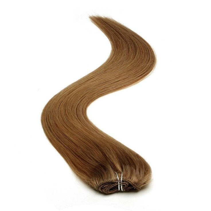 Half Head | Clip in Hair Extensions | 18 Inch | Mousey Brown (8)
