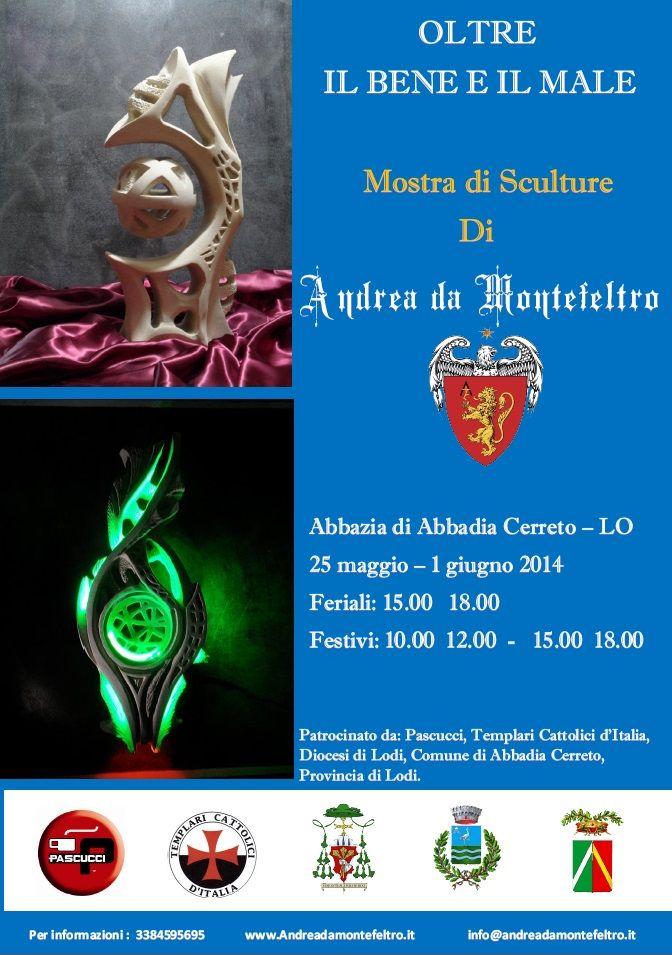 Mostra Abbazia di Abbadia Cerreto (LO) – maggio 2014