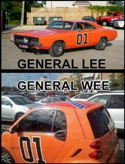 General Lee, General Wee haha the wee was my husbands actual car.... we went to…