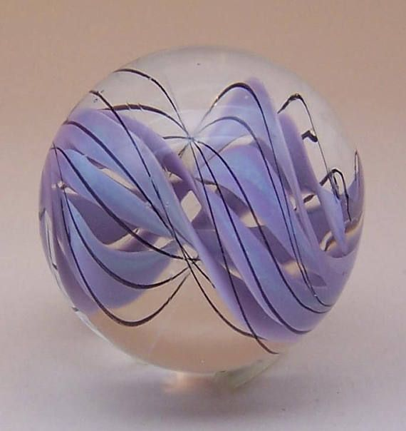remarkable-clear-lampwork-glass-marble