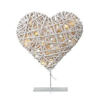 Svítící srdce Vidinge White | Bonami