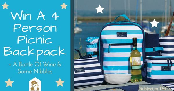- If you want to win our prize, put 'yes' in the comments section - Then follow this link http://croak.morsetoad.com/ref/y7557689 Includes: 1x 4 Person Picnic Backpack + 1x Crisp Dry White Win + A Nibble Selection.