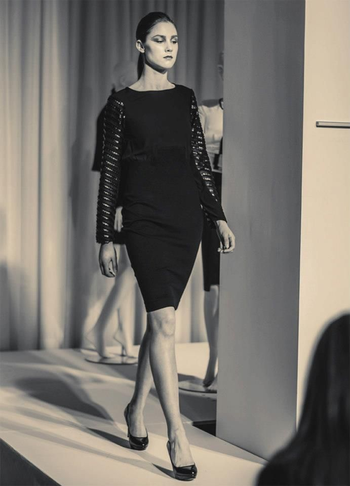 Jacqueline Conoir Fall 2013. Dress with Detailed Sleeves: $118