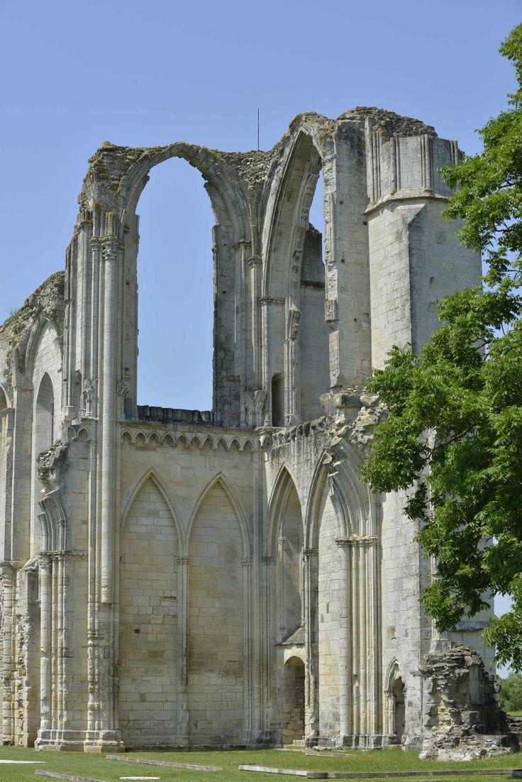 Abbaye Saint Pierre de Maillezais ©Pascal Baudry pour Sud Vendée Tourisme