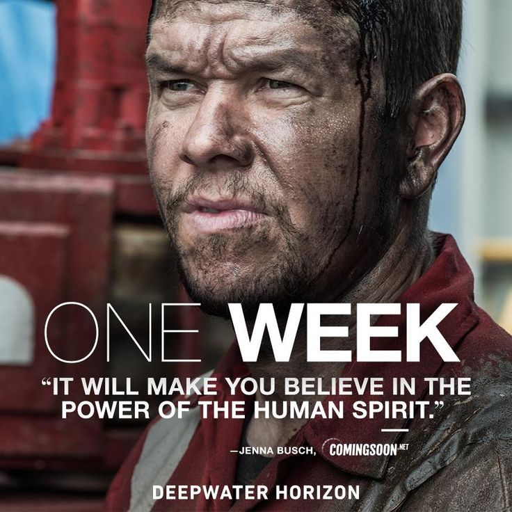 In ONE WEEK, experience the powerful movie critics are raving about. See Deepwater Horizon - In theaters and IMAX September 30. Get tickets now: http://lions.gt/dwhtickets #DeepwaterHorizonMovie