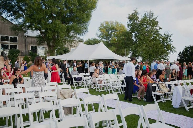 Tent- White Chairs- Garden Social