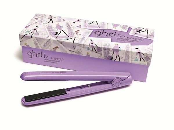 Dressed in the sweetest shade of lavender the ghd IV styler has had a new season makeover! Inspired by the latest pastel colours on the catwalk, you can add a pop of on-trend colour to your styling routine.