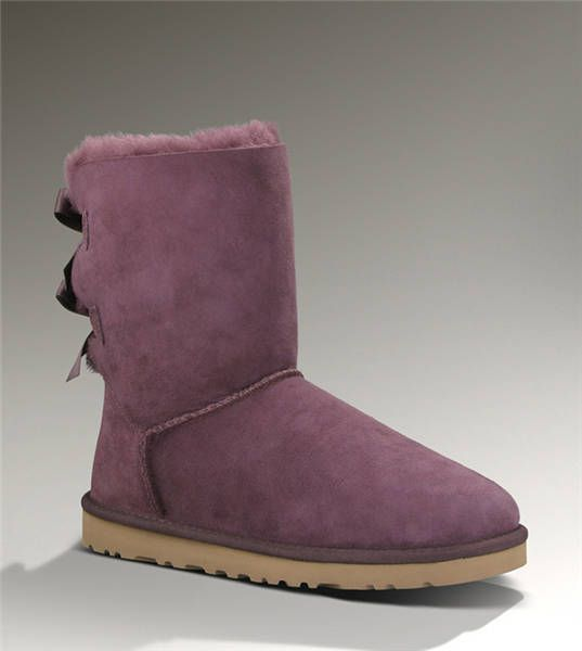 Ugg Bailey Bow 1002954 Fuchsia Boots  | Ugg Boots Online Sale
