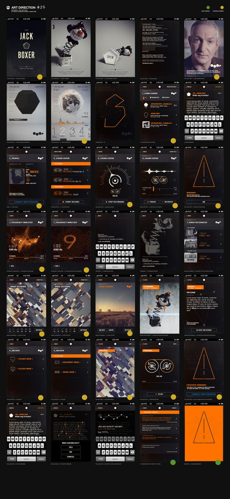 Daybreak 2012 UI (User Interface Design)