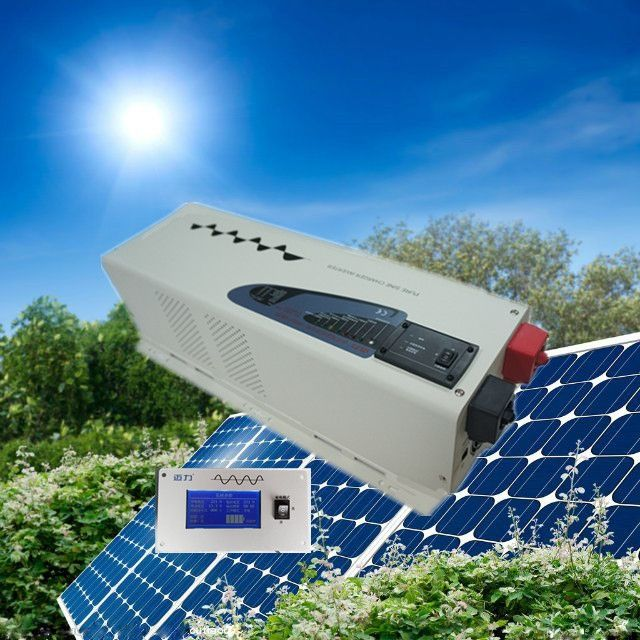 1031.00$  Watch now - Best selling low frequency off grid  inverter  solar panel inverter 4000W solar power inverter 24V 220V  #magazineonlinebeautiful