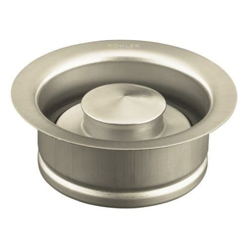 kohler k 11352 solid durable disposal flange and stopper for standard garbage disposals oil rubbed bronze 2bz oil rubbed bronze 2bz - Kohler Armaturen L Eingerieben Bronze
