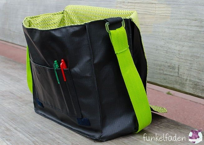 Genäht – Messenger Bag aus LKW-Plane › Anleitungen, Do it yourself › Freebook, Messenger, nähen, Tasche