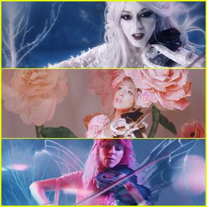 Lindsey Stirling Transforms Into Three Magical Fairies in 'Dance of the Sugar Plum Fairy' Video