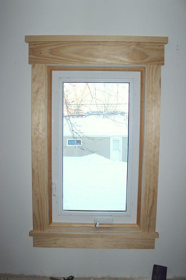 Best 20 interior window trim ideas on pinterest for Craftsman style molding photos