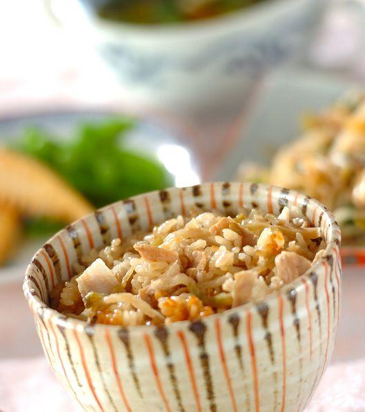 「豚と大根の中華炊き込みご飯」の献立・レシピ - 【E・レシピ】料理のプロが作る簡単レシピ/2011.05.20公開の献立です。