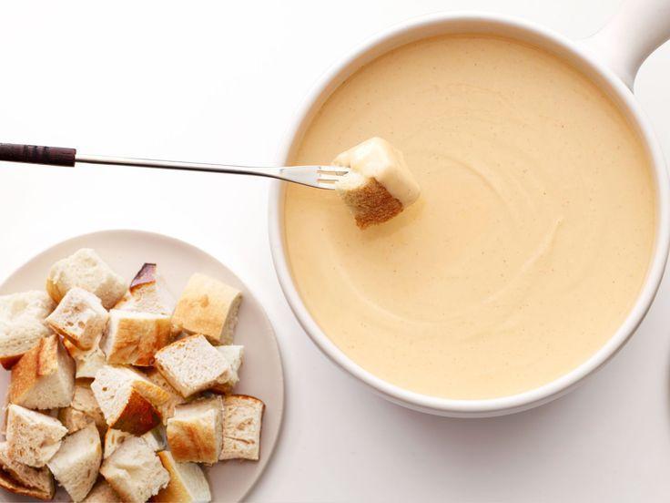 Easy cheese fondue recipe for two