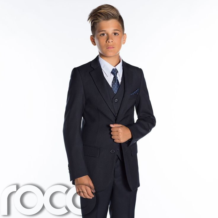 Boys Navy Suits, Page Boys Suits, Boys Wedding Suits, Prom Suits, Slim Fit Suit in Clothing, Shoes, Accessories, Boy's…