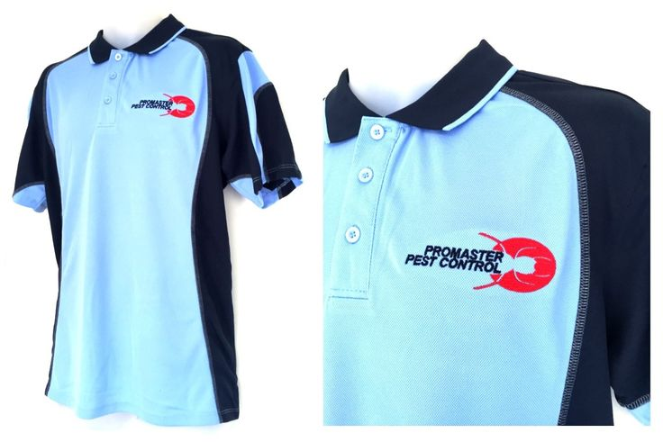 This Polo Shirt Design Was Created For Pro Master Pest