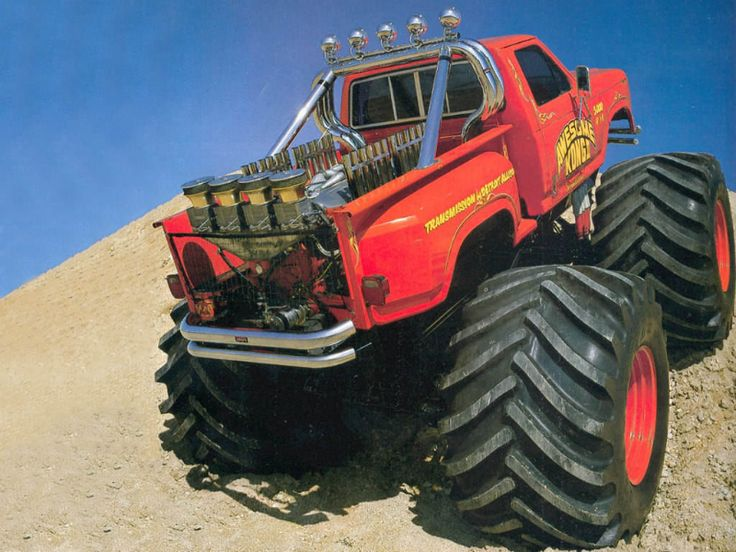 """The real Dodge """"Awesome Kong"""" Monster Truck"""