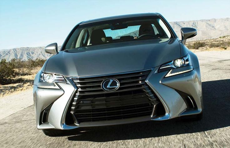 2017 Lexus GS 350 overview