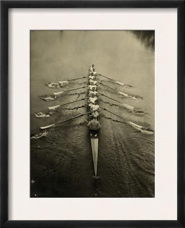 "Rowing Team, C1913   17 x 21""  $143.99    Framed Photographic Print at Art.com"