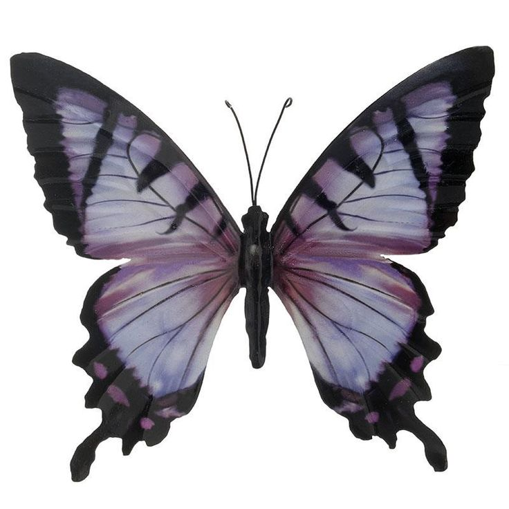 Metallic Butterfly - inart