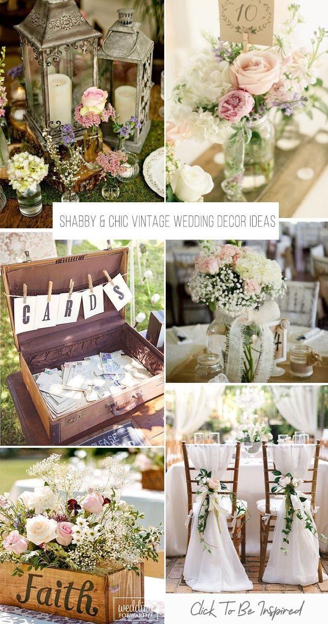 Shabby Chic Vintage Wedding Decor Ideas Wedding Forward Shabby Chic Wedding Decor Chic Wedding Decor Vintage Wedding Decorations