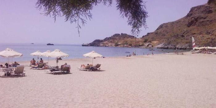 Damnoni Beach in Plakias, Rethimno, Crete