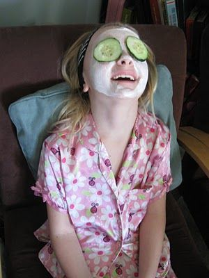 AWESOME ideas for a Spa Party for girls!