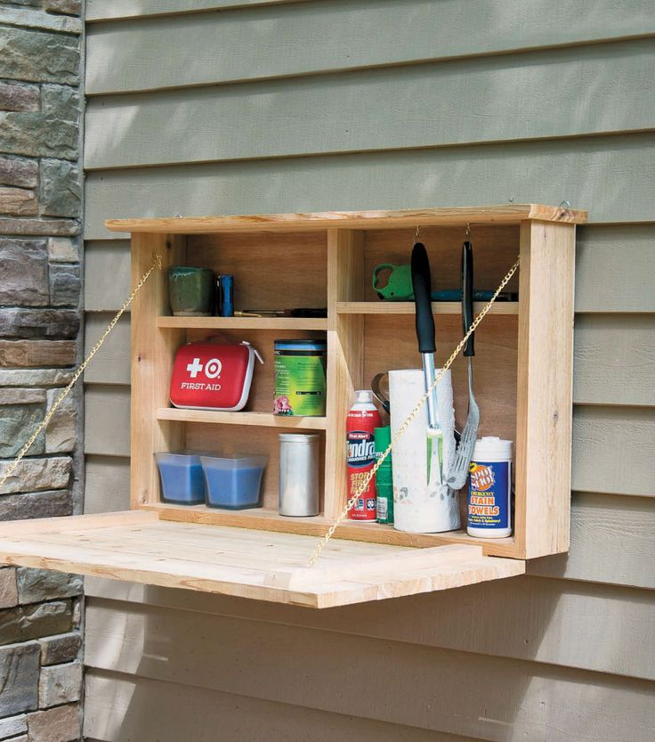 Plastic Shelving Canu0027t Stand The Wear And Tear Of The Outdoors. Add A