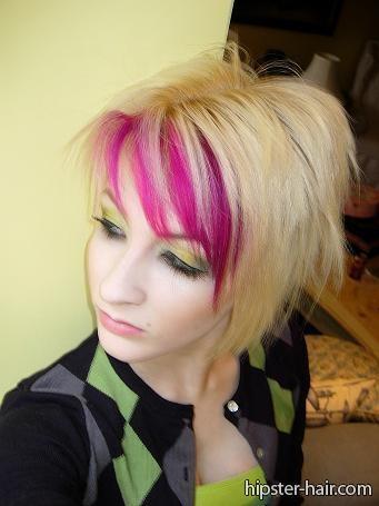 Pink Streaks Hair And Beauty Pinterest