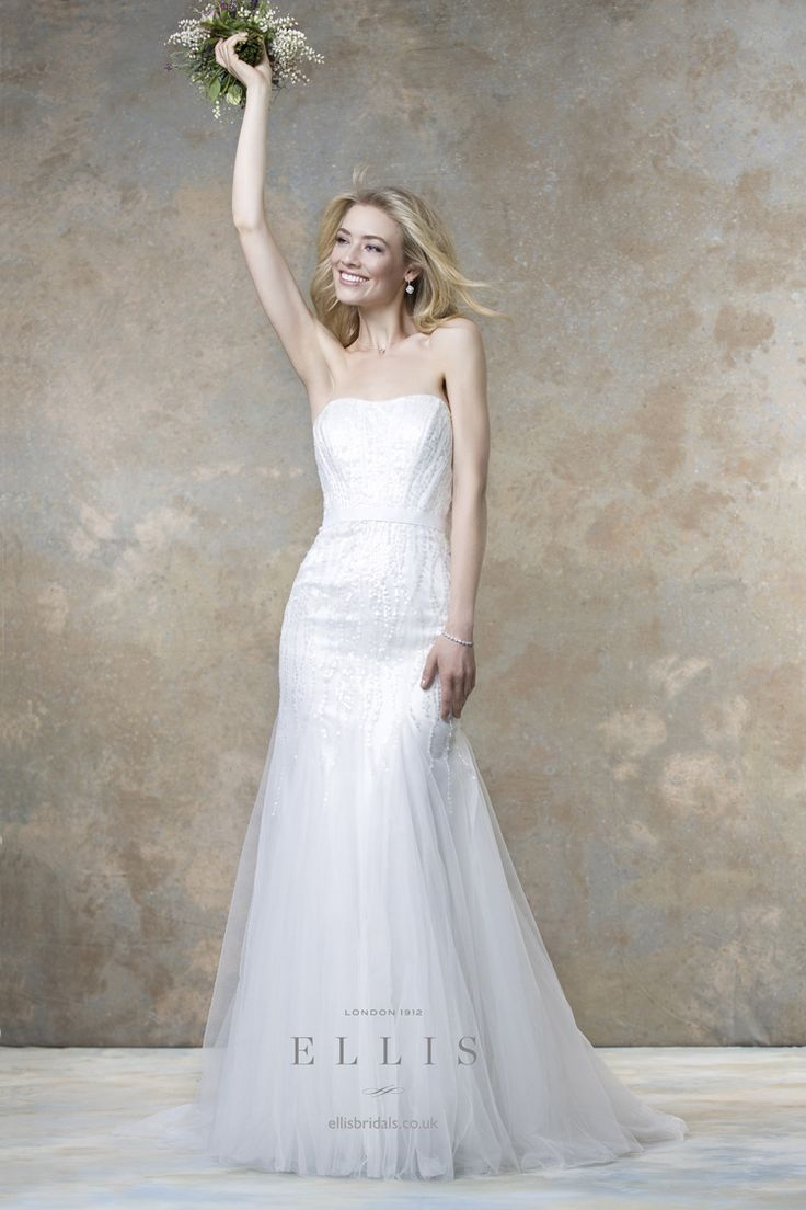 Ellis Bridals 2016 Wedding Dresses | itakeyou.co.uk #weddingdress #weddinggown:
