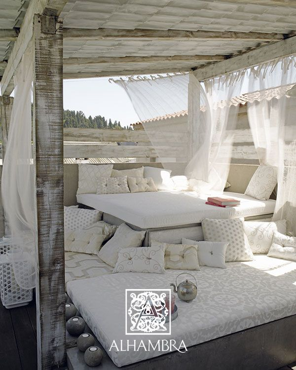 camas al aire libre en las que querrs despedir el verano