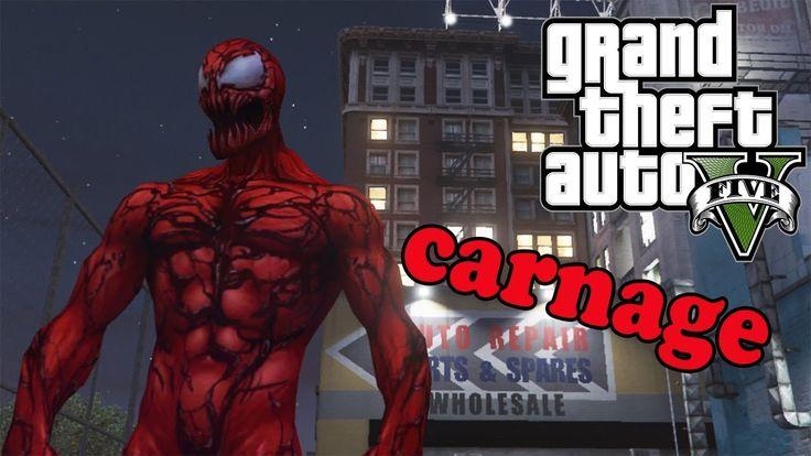 GTA 5 моды - Carnage (Marvel Future Fight)
