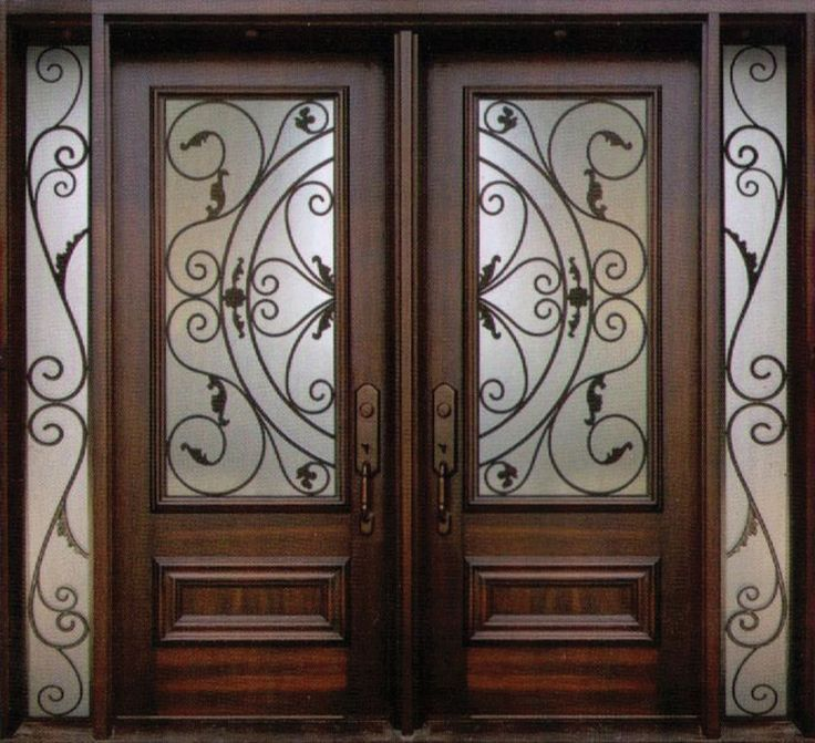 Awesome Single Iron Entry Doors