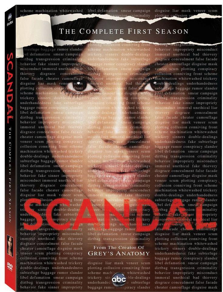 Scandal: Season 1 on DVD ($12)