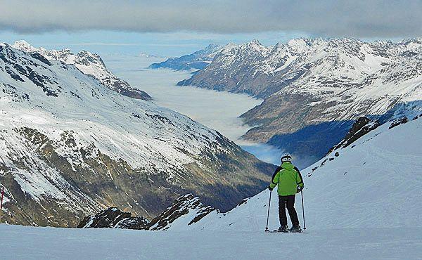 Austria: Esquiando no Tirol austríaco: Ötztal e Arlberg