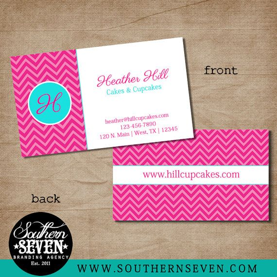 35 best business card designs images on pinterest business card pink chevron business card design 500 full color by southernseven 5500 colourmoves