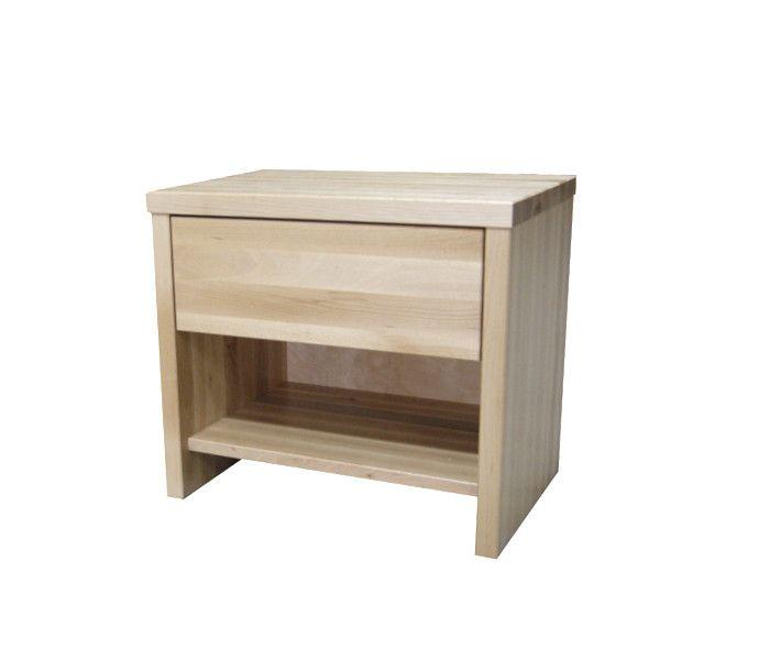 #szafka #nocna #buk Szafka nocna drewniana bukowa[29] Meble Drewniane - meble sosnowe producent, łóżka, komody, witryny