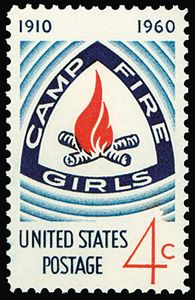 I was totally a Camp Fire Girl!
