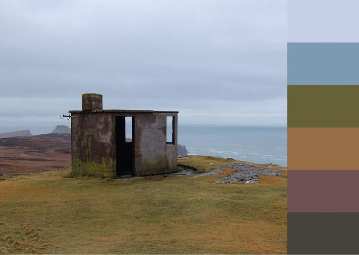 Turfprojects.ie Colour Palettes Irish Landscape Inspiration Ireland Donegal Malin Head