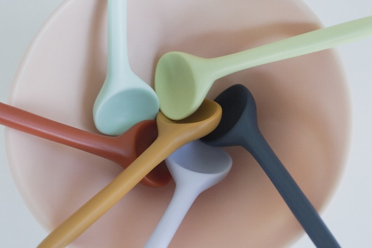 Dinosaur Designs Sorbet Collection 2012 - Temple Spoons