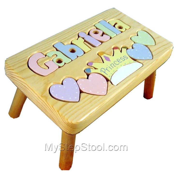 Princess Puzzle Name Stool. Step StoolsPersonalized PuzzlesBaby ...  sc 1 st  Pinterest & 35 best Puzzle Step Stools images on Pinterest | Step stools ... islam-shia.org