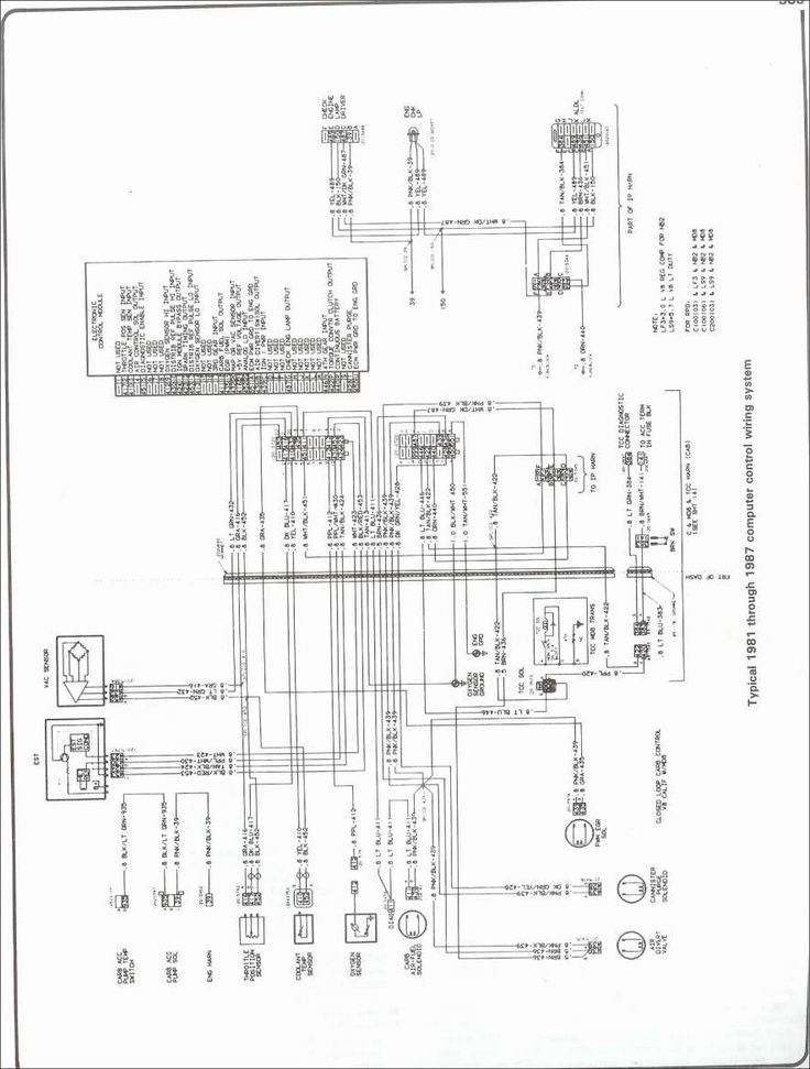 12  87 Chevy Truck Radio Wiring Diagram