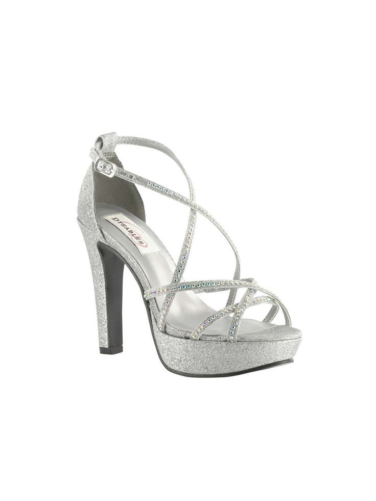 Dyeables Shoes Style Taylor Silver   House of Brides
