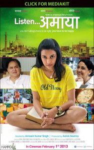 Listen...Amaya (2013) - Farooq Sheikh, Deepti Naval, Amala Akkineni, Swara Bhaskar, Kriti Maria Pant, Oroon Das, Siddhant Karnick, Vidya Bhushan, Viren Basoya
